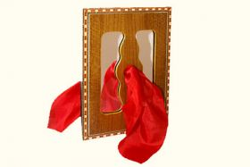 Foulard travers le miroir for A travers le miroir